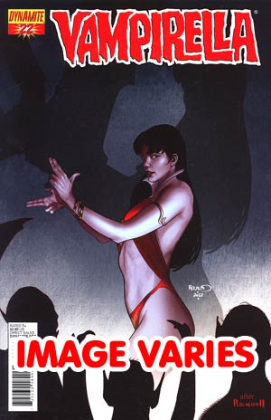 DO NOT USE Vampirella Vol 4 #22 Regular Cover (Filled Randomly With 1 Of 3 Covers)
