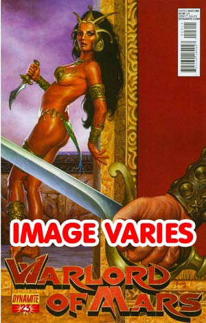 DO NOT USE Warlord Of Mars #23 Regular Cover (Filled Randomly With 1 Of 2 Covers)