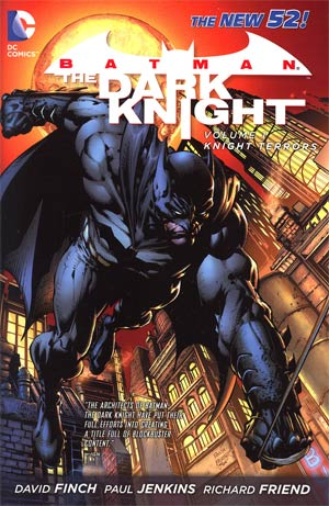 Batman The Dark Knight (New 52) Vol 1 Knight Terrors HC