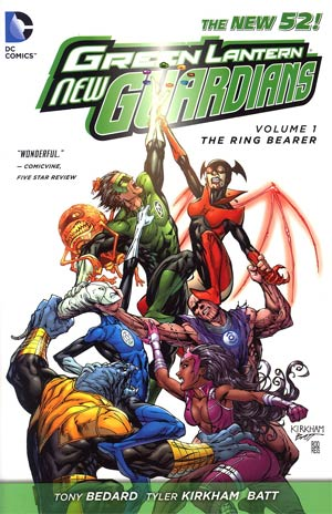 Green Lantern New Guardians Vol 1 Ring Bearer HC