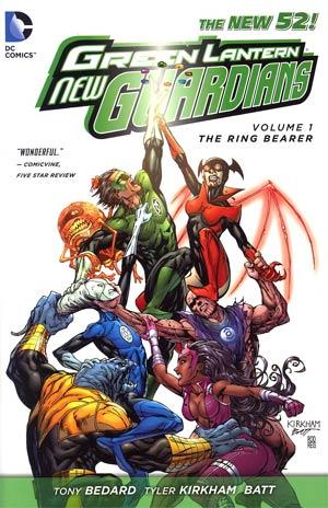 Green Lantern New Guardians Vol 1 Ring Bearer HC
