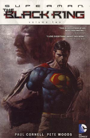 Superman The Black Ring Vol 2 TP