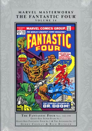 Marvel Masterworks Fantastic Four Vol 14 HC Regular Dust Jacket