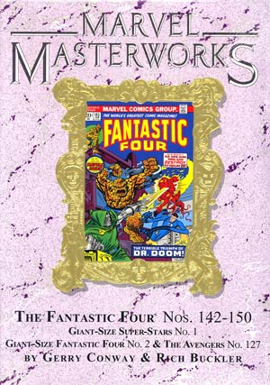 Marvel Masterworks Fantastic Four Vol 14 HC Variant Dust Jacket