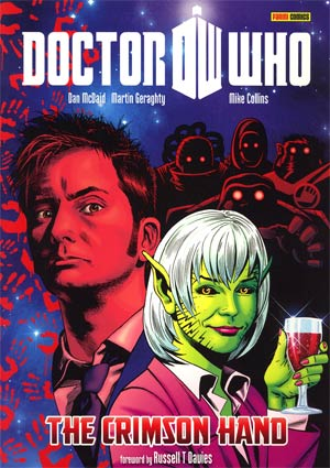 Doctor Who Crimson Hand GN