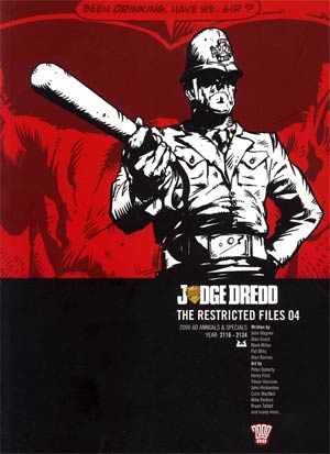 Judge Dredd Restricted Files Vol 4 TP