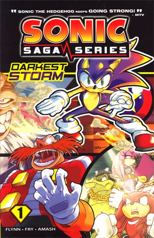Sonic Saga Series Vol 1 Darkest Storm TP