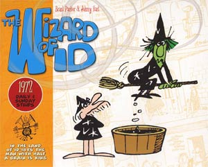 Wizard Of Id Daily & Sunday Strips 1972 HC