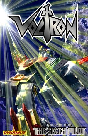 Voltron Vol 1 Sixth Pilot TP