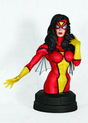 Spider-Woman Mini Bust By Gentle Giant