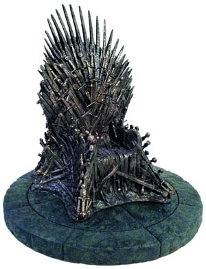 Game Of Thrones Iron Throne Replica Statue