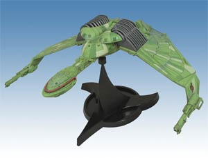 Star Trek Electronic Klingon Bird Of Prey Ship
