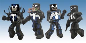 Marvel Minimates Venom Through The Ages Previews Exclusive Box Set
