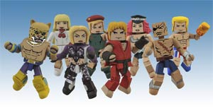 Street Fighter x Tekken Minimates Series 1 Complete 4 2-Pack Set