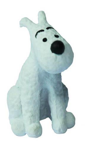 Tintin PVC Figure - Snowy Sitting 4 cm