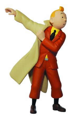 Tintin PVC Figure - Tintin Trenchcoat 8.5 cm