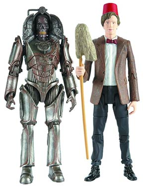 Doctor Who Pandorica Opens Eleventh Doctor With Fez & Mop 5-Inch Action Figure