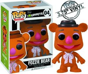 POP Muppets 04 Fozzie Bear Vinyl Figure