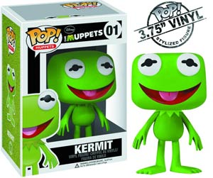 POP Muppets 01 Kermit The Frog Vinyl Figure