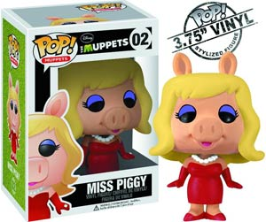 POP Muppets 02 Miss Piggy Vinyl Figure