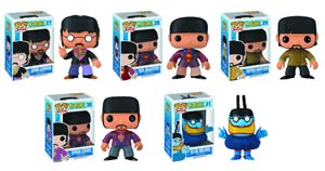 POP Rocks Beatles Vinyl Figure 5-Piece Assortment Case