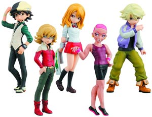 Tiger And Bunny Half Age Characters Vol 1 Blind Mystery Box Figure