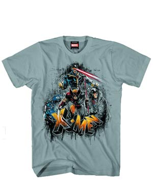 X-Men X Born Heather T-Shirt Large