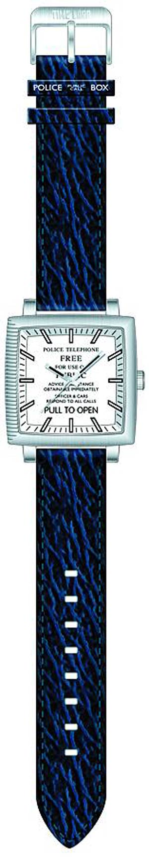 Doctor Who Adult Analogue Watch - TARDIS