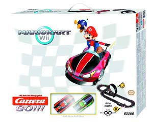 Mario Kart Wii 1/43 Scale Slot Car Track Set