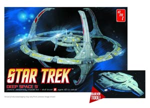 Star Trek Deep Space 9 Station 1 1/3300 Scale Model Kit