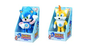 Sonic The Hedgehog Medium Talking Plush - Sonic