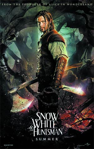 Snow White And The Huntsman Extended Edition Blu-ray Combo DVD