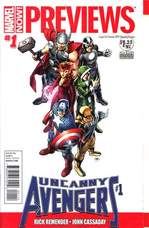 Marvel Previews #108 August 2012