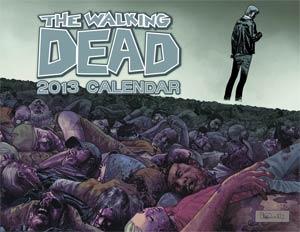 Walking Dead 2013 Calendar