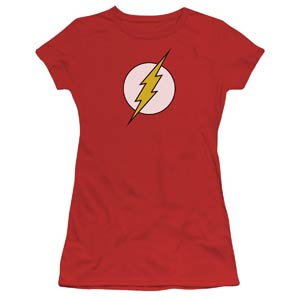 Flash Symbol Womens T-Shirt Large (Trevco)