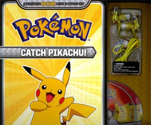 Pokemon Deluxe Look & Listen Set Catch Pikachu TP