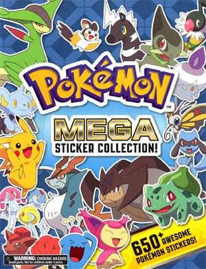 Pokemon Mega Sticker Collection TP