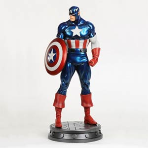 Captain America Avengers Statue By Bowen Website Exclusive