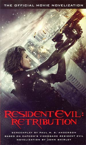 Resident Evil Retribution Movie Novelization MMPB