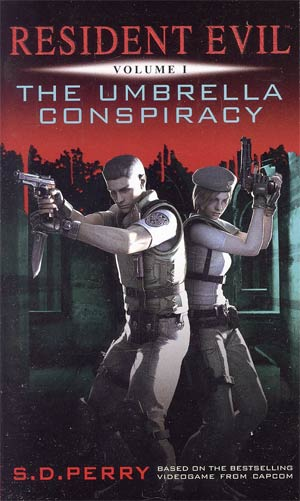 Resident Evil Vol 1 Umbrella Conspiracy MMPB Titan Edition