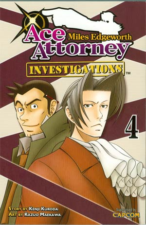 Miles Edgeworth Ace Attorney Investigations Vol 4 GN