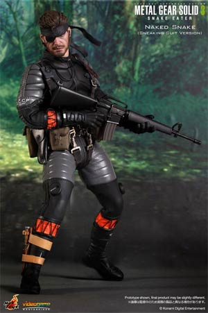 Metal Gear Solid 3 Snake Eater Naked Snake Sneaking Suit Version 12-Inch Action Figure
