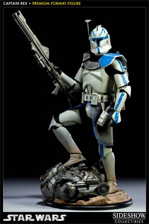 Star Wars Captain Rex Premium Format Figure