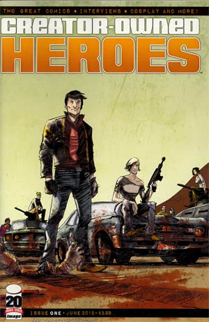 Creator-Owned Heroes #1 Incentive American Muscle Variant Cover