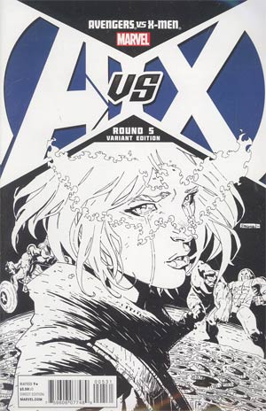 Avengers vs X-Men #5 Cover F Incentive Ryan Stegman Sketch Cover
