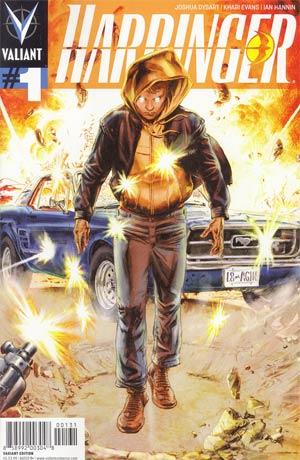 Harbinger Vol 2 #1 Incentive Doug Braithwaite Variant Cover