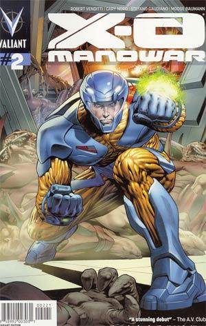 X-O Manowar Vol 3 #2 Incentive Arturo Lozzi Variant Cover
