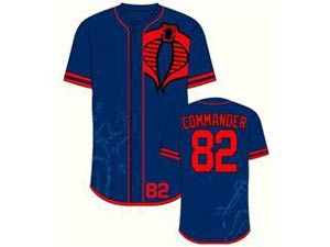 GI Joe Cobra Base Commander Baseball Jersey XX-Large