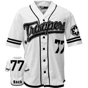 Star Wars Troopers Baseball Jersey X-Large