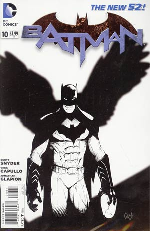 Batman Vol 2 #10  Incentive Greg Capullo Sketch Cover